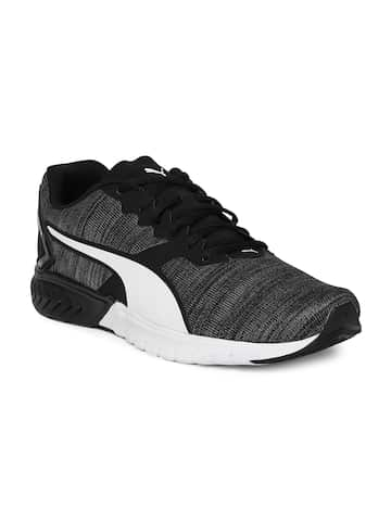 20b40d03676 Black Sports Shoes - Buy Black Sports Shoes Online in India