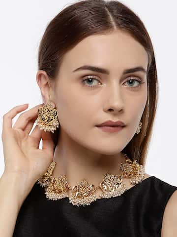 9e25ca0e16d Pearl Jewellery - Shop For Real Pearl Jewellery Online | Myntra