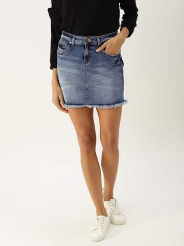 Denim Skirts - Buy Denim Skirts for Women Online  e85b7fafa
