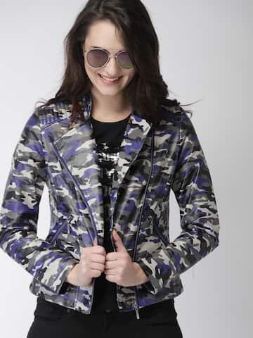2739453a230 Jackets - Buy Leather Jackets, Denim Jackets for Men & Women - Myntra