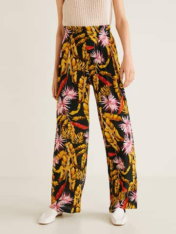 75bf53312 Women's Trousers - Shop Online for Ladies Pants & Trousers in India   Myntra