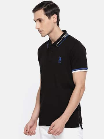 d0dda78c5 Proline Men Solid Polo Black Tshirts - Buy Proline Men Solid Polo ...