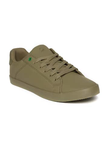 f44b4ed74a4b2a Olive Green Casual Shoes - Buy Olive Green Casual Shoes online in India
