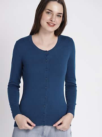 3e450f2307 Women s Cardigans - Buy Women Cardigans Online in India