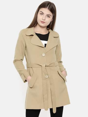 70bcda594d Trench Coats - Buy Trench Coats online in India