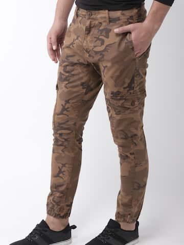 1824a079 Cargo Pants For Men - Buy Latest Trendy Cargo Pants Online   Myntra