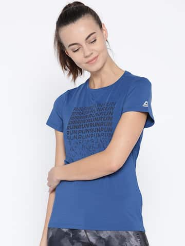 bb8b870af Reebok Women Tshirts - Buy Reebok Women Tshirts online in India