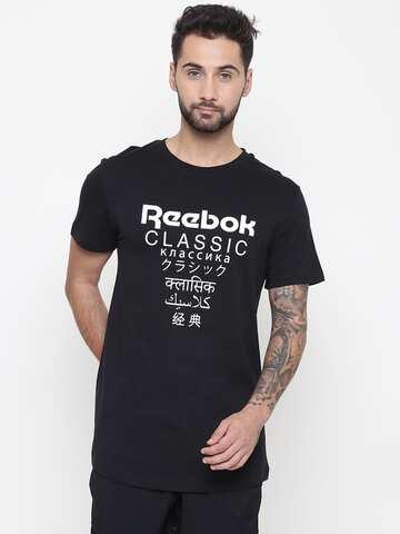ada55cfe Reebok Classic Tshirts - Buy Reebok Classic Tshirts online in India