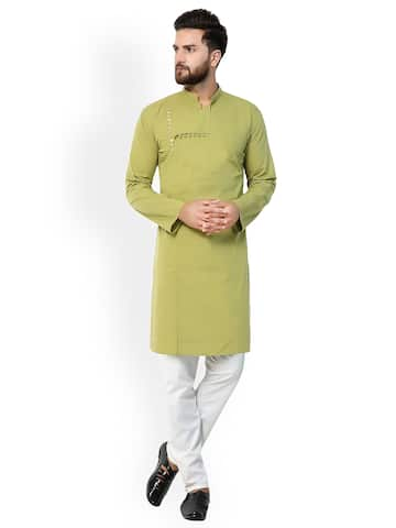 37a431e9e5c Kurtas for Men - Buy Men's Kurtas Online - Myntra