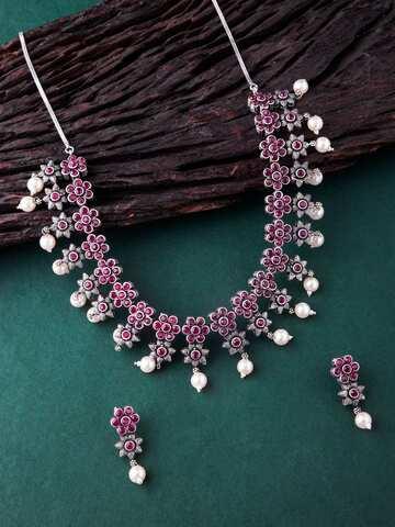 5b396df7cbcec Jewellery Set - Buy Jewellery Sets Online in India   Myntra