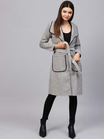 37a782170a Coats for Women - Buy Women Coats Online in India | Myntra