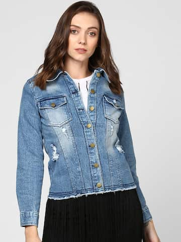 1bfdbcf0b Jackets for Women - Buy Casual Leather Jackets for Women Online