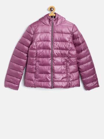 906a8d8c1 Mango Kids Girls Blue Washed Denim Jacket