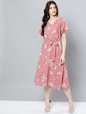 f97d6571397f4 Floral Dresses - Buy Floral Print Dress Online in India   Myntra