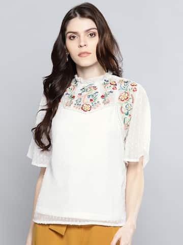 243d78d59e8 Ladies Tops - Buy Tops   T-shirts for Women Online