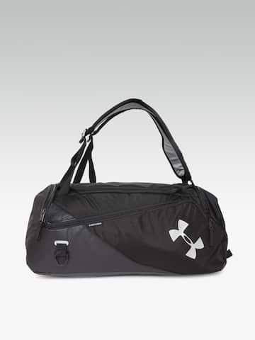 ADIDAS Unisex Blue Convertible 3 Stripes Duffle Bag Cum Backpack 9571b2354aba2