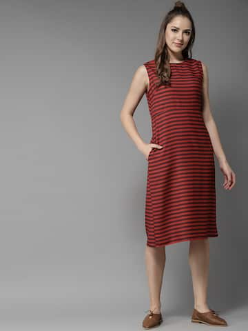 ebe8dea193ec8 Red Dress - Buy Trendy Red Colour Dresses Online in India
