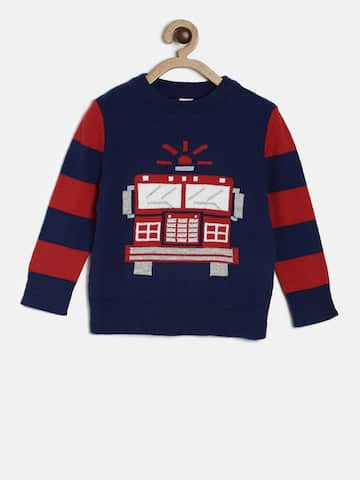 e5fd8cd8b135 Boys Sweaters- Buy Sweaters for Boys online in India