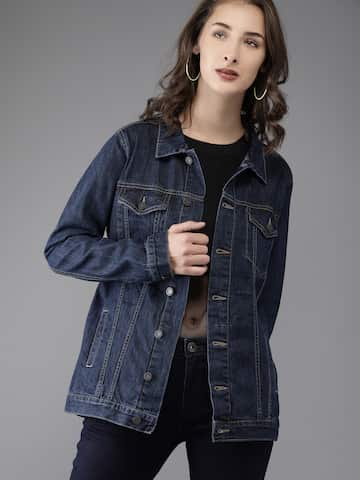 fa363c312945 Denim Jacket - Buy Denim Jacket Online - Myntra