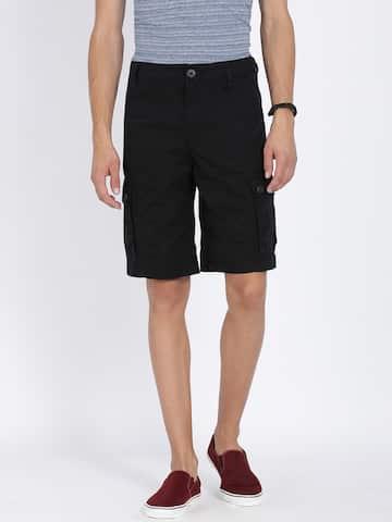 Cargo Shorts - Buy Cargo Shorts for Men   Women online in India - Myntra e23353efd85