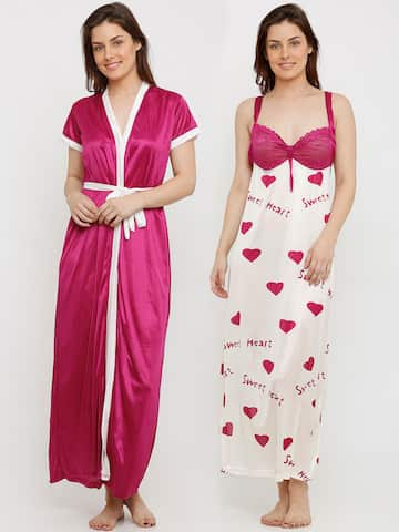 Satin Loungewear And Nightwear - Buy Satin Loungewear And Nightwear online  in India ccbbb0970