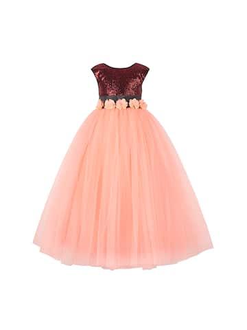 4ef42ff6d6155 Girls Dresses - Buy Frocks & Gowns for Girls Online | Myntra
