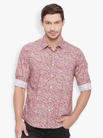 e8babbbdd5 Basics Printed Shirts - Buy Basics Printed Shirts online in India