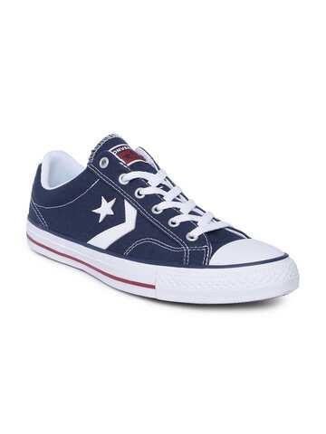 Converse Men White Sneakers 2b1e3ed46