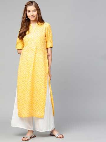 bc9a598f2 Bandhani Kurtas - Buy Bandhani Kurtas online in India
