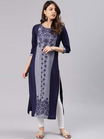 Kurtis Online - Buy Designer Kurtis   Suits for Women - Myntra 174053af6