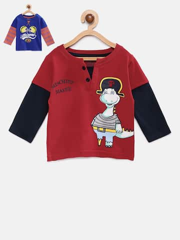 b2f1815ba5be Boys T shirts - Buy T shirts for Boys online in India