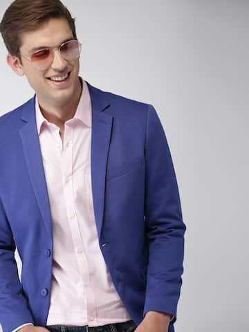 eb0a45310 Blazers for Men - Buy Men Blazer Online in India at Best Price | Myntra