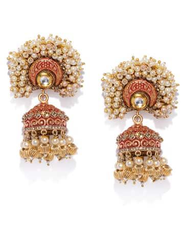 925f0cdb1 Jhumkas - Buy Jhumka Earrings Online in India   Myntra