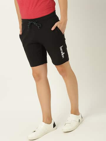 Men United Colors Of United Colors Of Benetton Formal Shoes Shorts