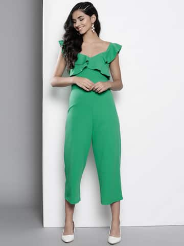 d94543050b2 Green Sequin High Neck Jumpsuit in 2019 Jumpsuits t