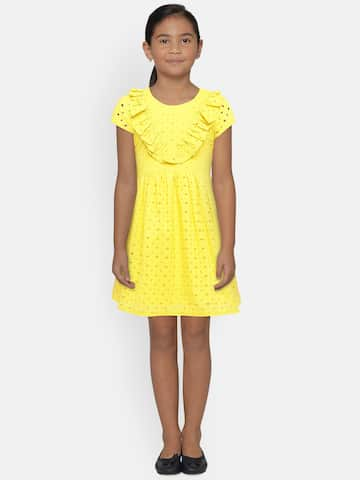 7f3a66fae Girls Dresses - Buy Frocks   Gowns for Girls Online