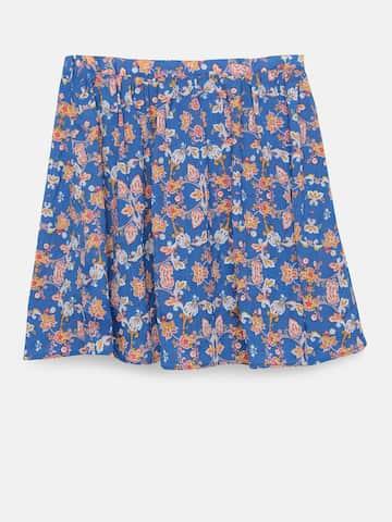 fa9e1ad7fd Girls Skirt - Buy Girls Skirt online in India