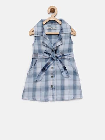 eeb65f1b6ebe Checked Dresses - Buy Checked Dresses online in India