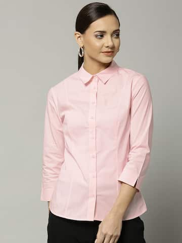 28acdc38f35 Women Formal Shirts - Buy Women Formal Shirts online in India