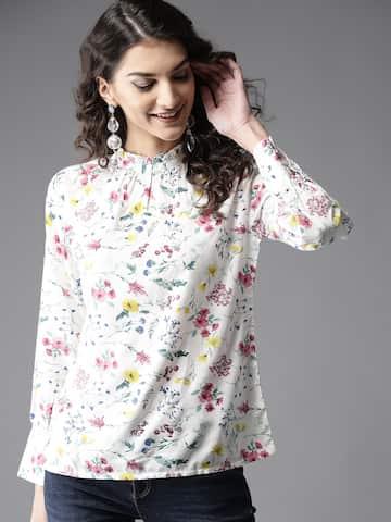 c076bb6a4b32 Tops - Buy Designer Tops for Girls & Women Online | Myntra