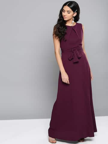 02f61898f24858 Long Dresses - Buy Maxi Dresses for Women Online in India - Upto 70% OFF