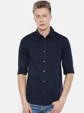 fd9b7af1548 Slim Fit Shirts | Buy Slim Fit Shirts Online in India at Best Price