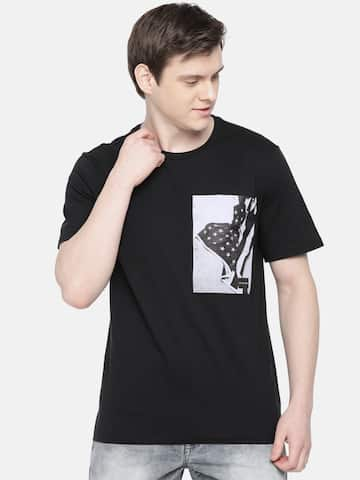 5a43b6d7c52e Men T-shirts - Buy T-shirt for Men Online in India | Myntra