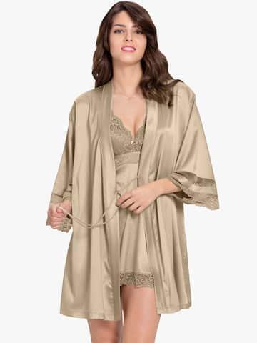 dc2133fa51 Women Nightwear Robe - Buy Women Nightwear Robe online in India