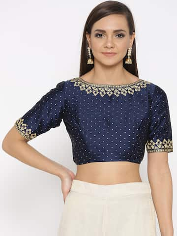 c63fed84a6e Blouses - Shop for Designer Blouse Online in India | Myntra