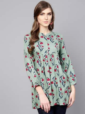 855bb1e531 Ethnic Tops - Buy Ethnic Wear for Women Online in India