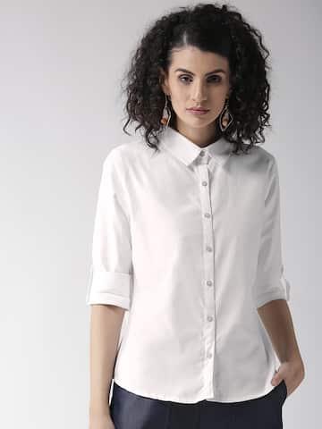 b8f7060adad62 Women Shirts - Buy Shirts for Women Online in India