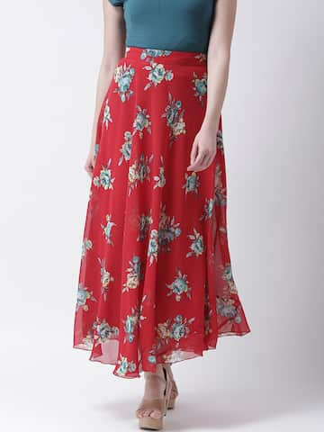 30f11a31a8 Skirts for Women - Buy Short, Mini & Long Skirts Online - Myntra