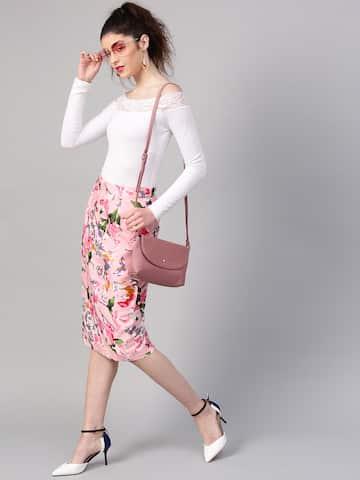 50d3a07961 Skirts for Women - Buy Short, Mini & Long Skirts Online - Myntra