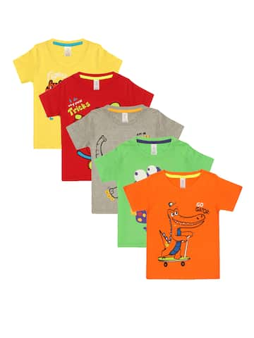 dbad8397a07a Kids T shirts - Buy T shirts for Kids Online in India Myntra